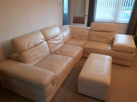 Italsofa leather corner sofa