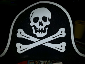 Big Foam Pirate Hat New with Tags Halloween