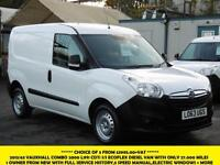 2013 VAUXHALL COMBO 2000 L1H1 CDTI S/S ECOFLEX DIESEL VAN WITH ONLY 27.000 MILES