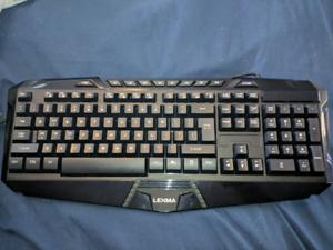 Lexma lx6000 gaming Keyboard & Mouse combo