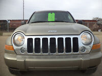 2006 Jeep Liberty LIMITED SPORT PKG 4X4-SUPPER CLEAN IN AND/OUT