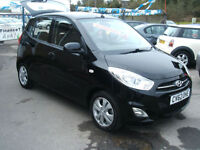 2012 Hyundai i10 1.2 Active 5d **12 MONTH WARRANTY**