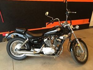 """2003 Virago 250 with only 3800km """"almost new"""""""