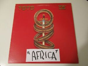 LP RECORD  TOTO (AFRICA)  in great shape  $20  in Trail