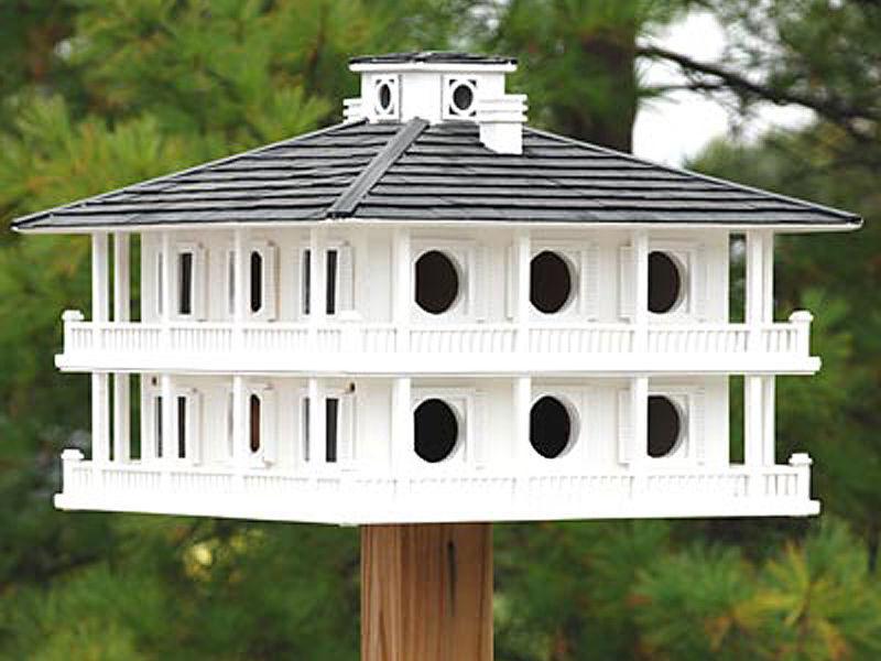How to make a purple martin house pole ebay for How to build a pole house