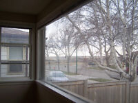 One bedroom main floor apartment with coulee view