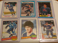1980s   ROOKIE HOCKEY CARDS