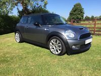2010 Mini Cooper s 60 plate 184bhp model 1 owner fsh chilli pack vgc Px