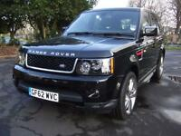 Land Rover Range Rover Sport SDV6 HSE RED