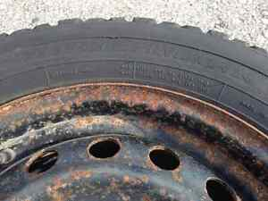 Winter Tires on rims for Toyota Matrix or Pontiac Vibe London Ontario image 5
