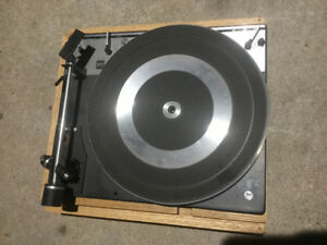 Duel German turntable