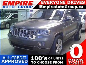 2012 JEEP GRAND CHEROKEE OVERLAND * 4WD * LEATHER * NAV * REAR C
