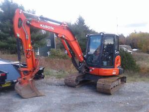 2016 Kubota KX057-4 Mini Excavator
