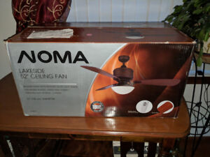 New 52 Inch Noma Lakeside Ceiling Fan