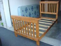 All Wood Single Bed