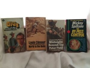 Western paperback pocketbooks