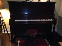 Fully restored 1906 Mason Risch piano