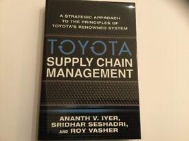 "Book ""Toyota Supply Chain Management"""