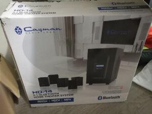 Brand new Cayman media labs HD-14