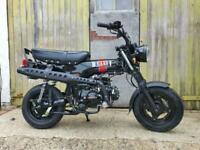Brand new Bullit Heritage 125cc monkey bike learner legal motorcycle camper