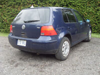 2003 Volkswagen Golf tdi Bicorps