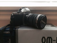 Olympus OMD E-M5 with 12-50mm kit lens