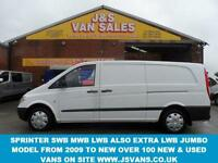 2011 11 MERCEDES-BENZ VITO 2.1 111 CDI EXTRA LONG LWB 1D 116 BHP RARE MODEL EXTR