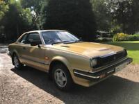 1982 HONDA PRELUDE 1.6 AUTO COUPE 16,300 MILES COOL RETRO CLASSIC EXCEPTIONAL