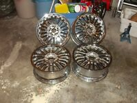 "17"" Chrome Falken Rims"