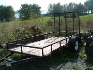 Utility trailer, 5 x 10 ft.