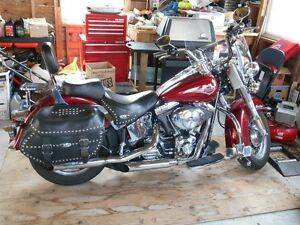 2001 HARLEY HERITAGE SOFTAIL CLASSIC