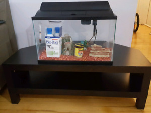 -=$ Aquarium + table basse $=-