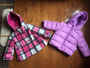 Winter jackets for baby girl