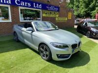 2015 BMW 2 Series 1.5 218i Sport Auto (s/s) 2dr