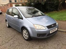 2006 FORD FOCUS C-MAX 2.0 GHIA AUTOMATIC 5DR HATCHBACK
