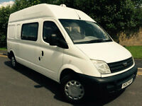 2007 57 LDV MAXUS 3.5T 95 LONG WHEEL BASE 9 SEAT CREW VAN *NO VAT*