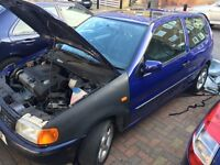 Vw polo 1.6 spares or repair