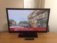 """LG 42"""" Plasma TV HD Ready with Freeview 2 HDMI and USB Fully working with remote can deliver"""