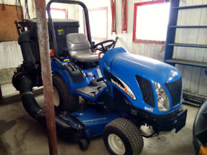 New holland tz 25da