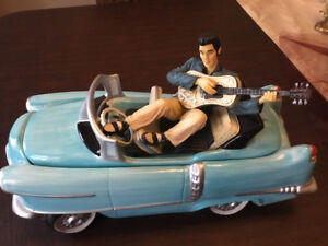 Collectable Elvis cookie jar