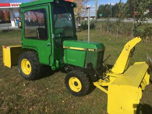 Tracteur john deere 955