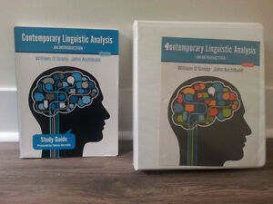 Contemporary Linguistic Analysis: an Introduction, 8th ed