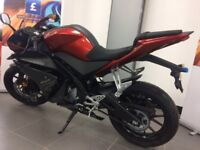 YAMAHA YZF-R125 LOW RATE FINANCE LEARNER LEGAL 01257 230300