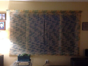 CUSTOM BLINDS - STAINED GLASS COLLECTION (pvc)