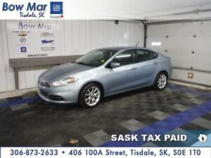 "2013 Dodge Dart SXT*CERTIFIED*16"" ALLOY WHEELS*PST PAID*"