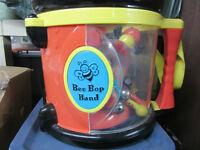 Bee Bop Band musical instruments