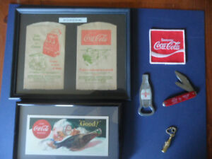 COKE COLA COLLECTABLES LOT