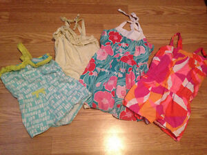**Girls Gymboree dress and 3 Rompers**5T**$15**