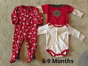 6-9 month Christmas Outfits