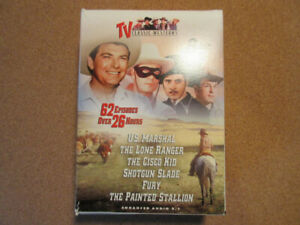 TV Classic Westerns on 8 DVD's